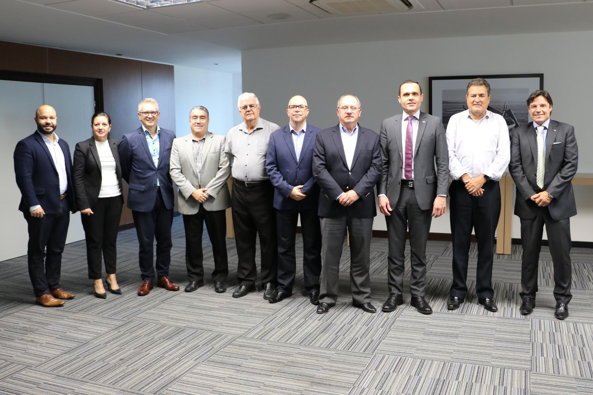 Reunião com a Diretoria Executiva e Presidência do Conselho Estadual – CDE – Florianópolis/SC