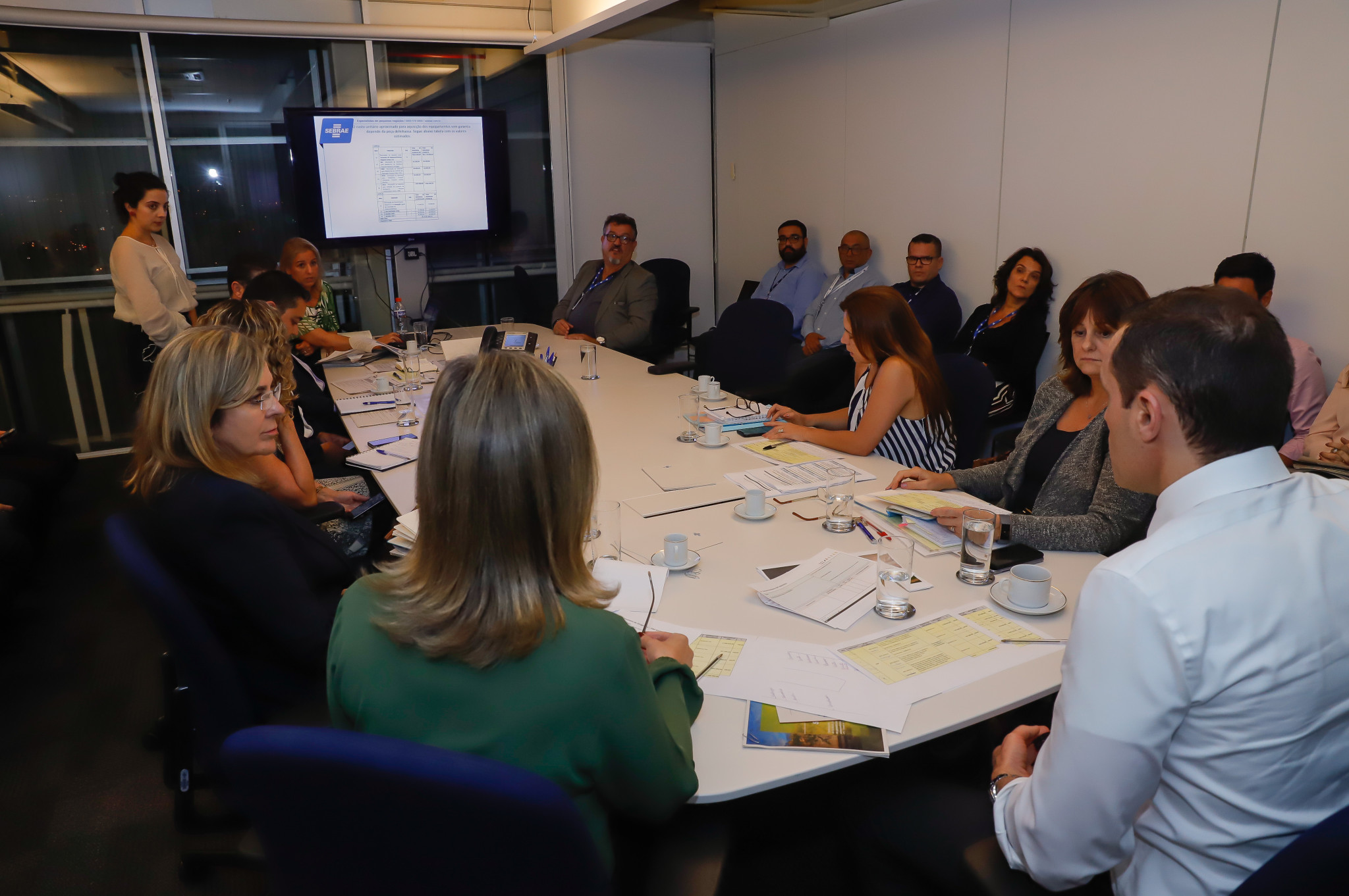 Reunião para deliberação Pré Direx