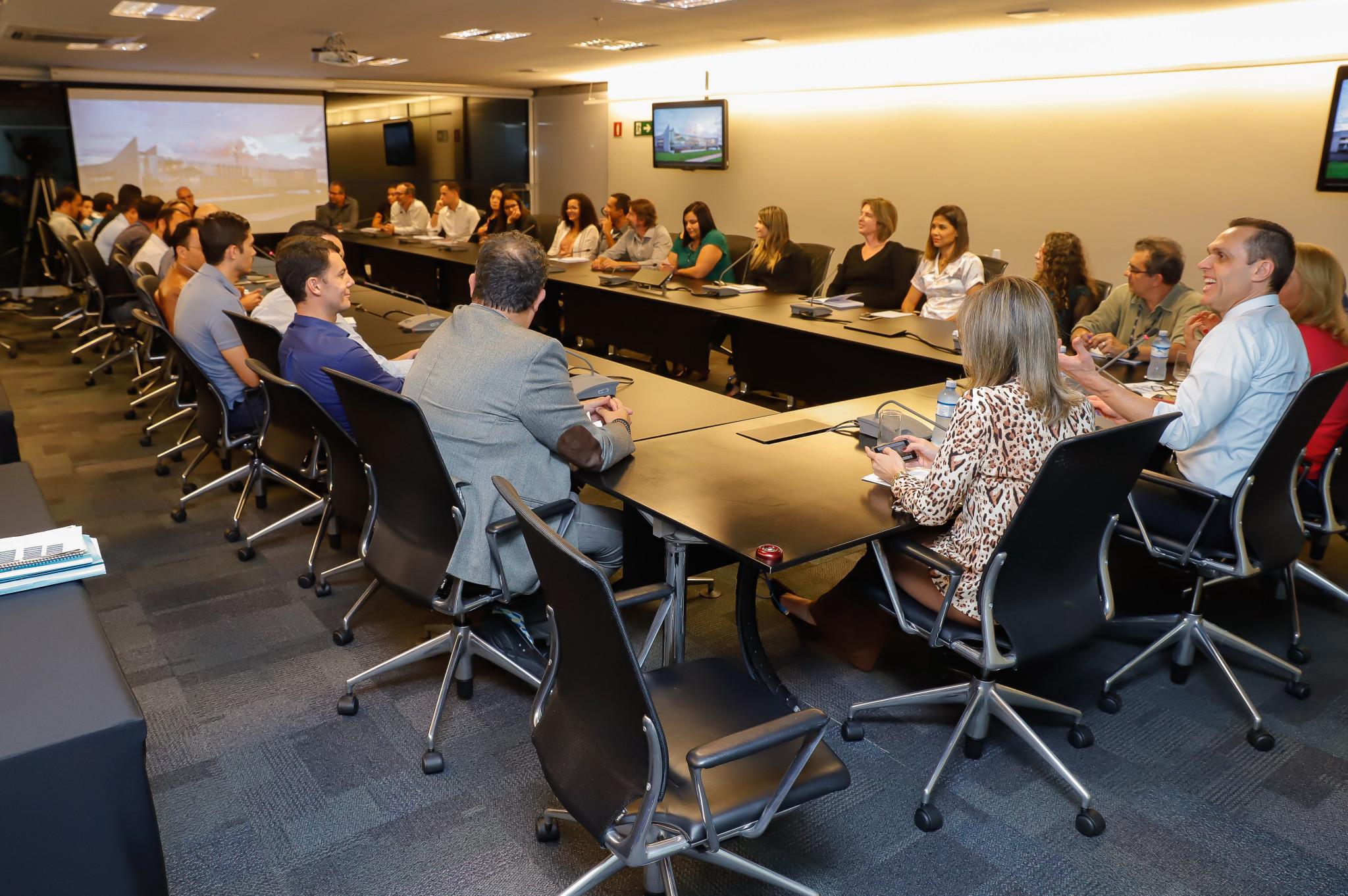 Reunião com equipe da Unidade de Tecnologia da Informação (UTIC)