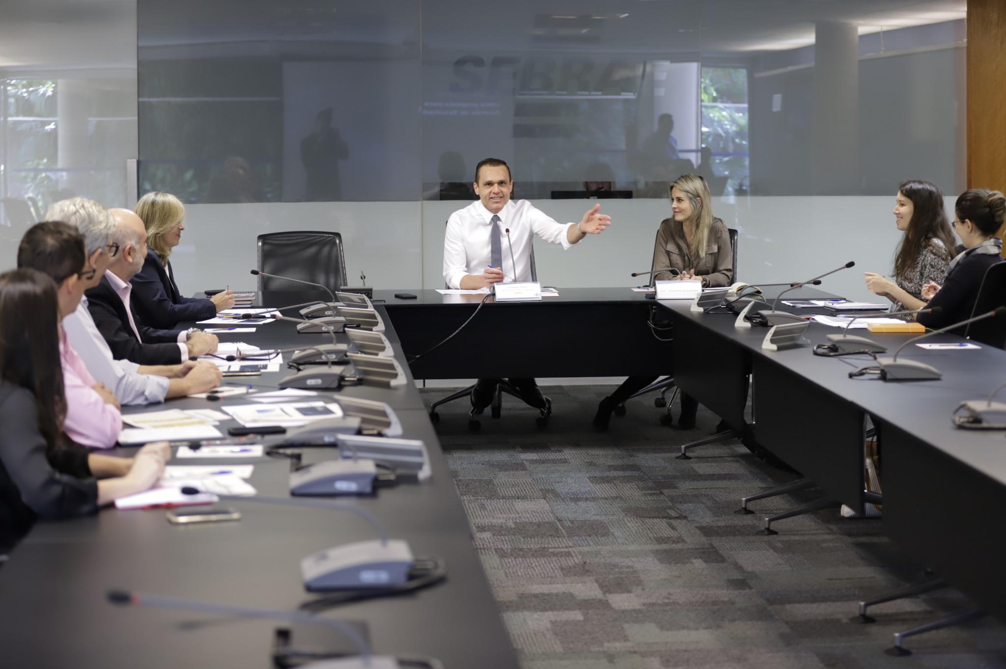 Reunião de apresentação do Acordo de Resultados Sebrae / Sepec