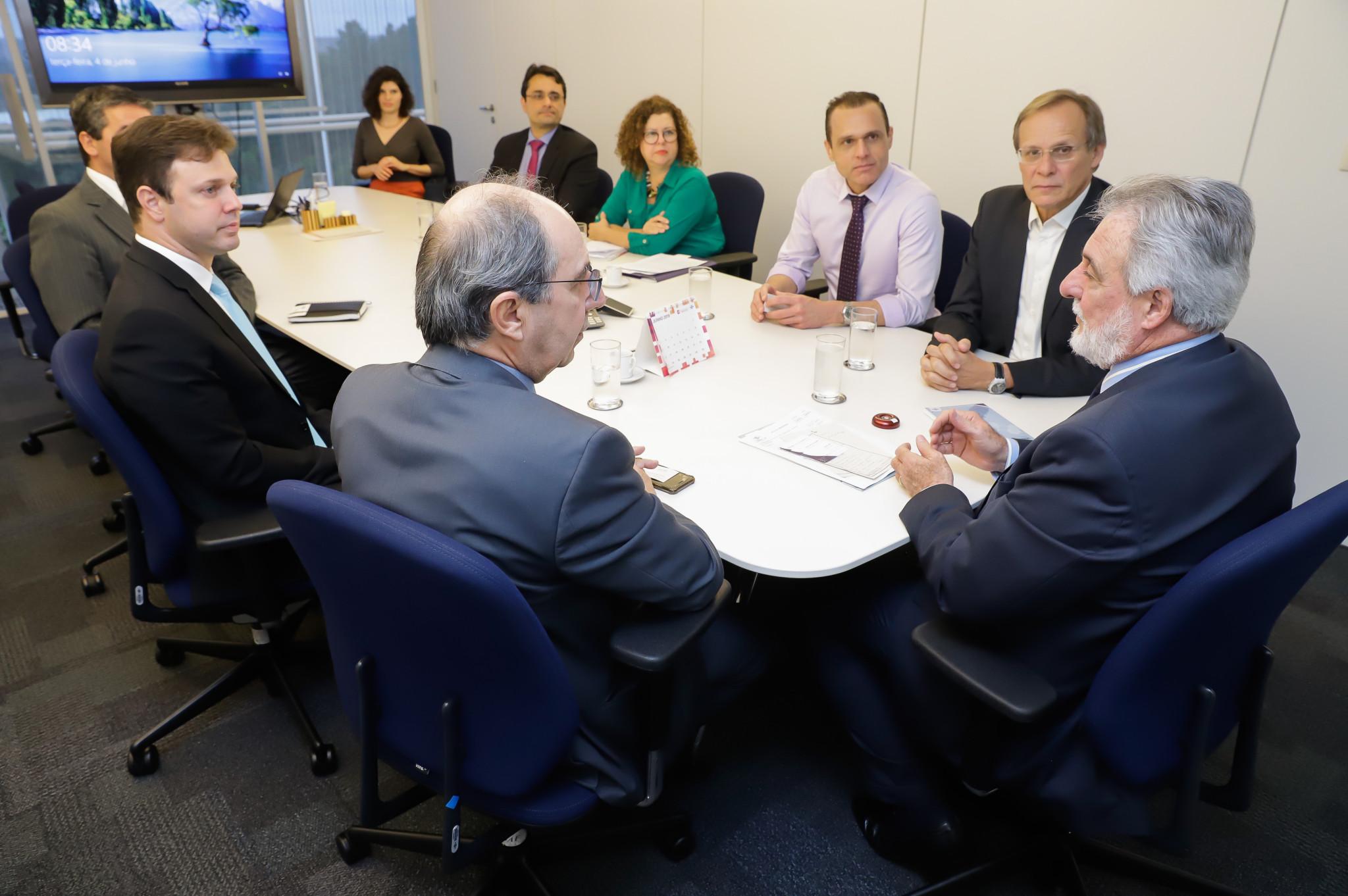 Reunião com Presidência da CONAMP