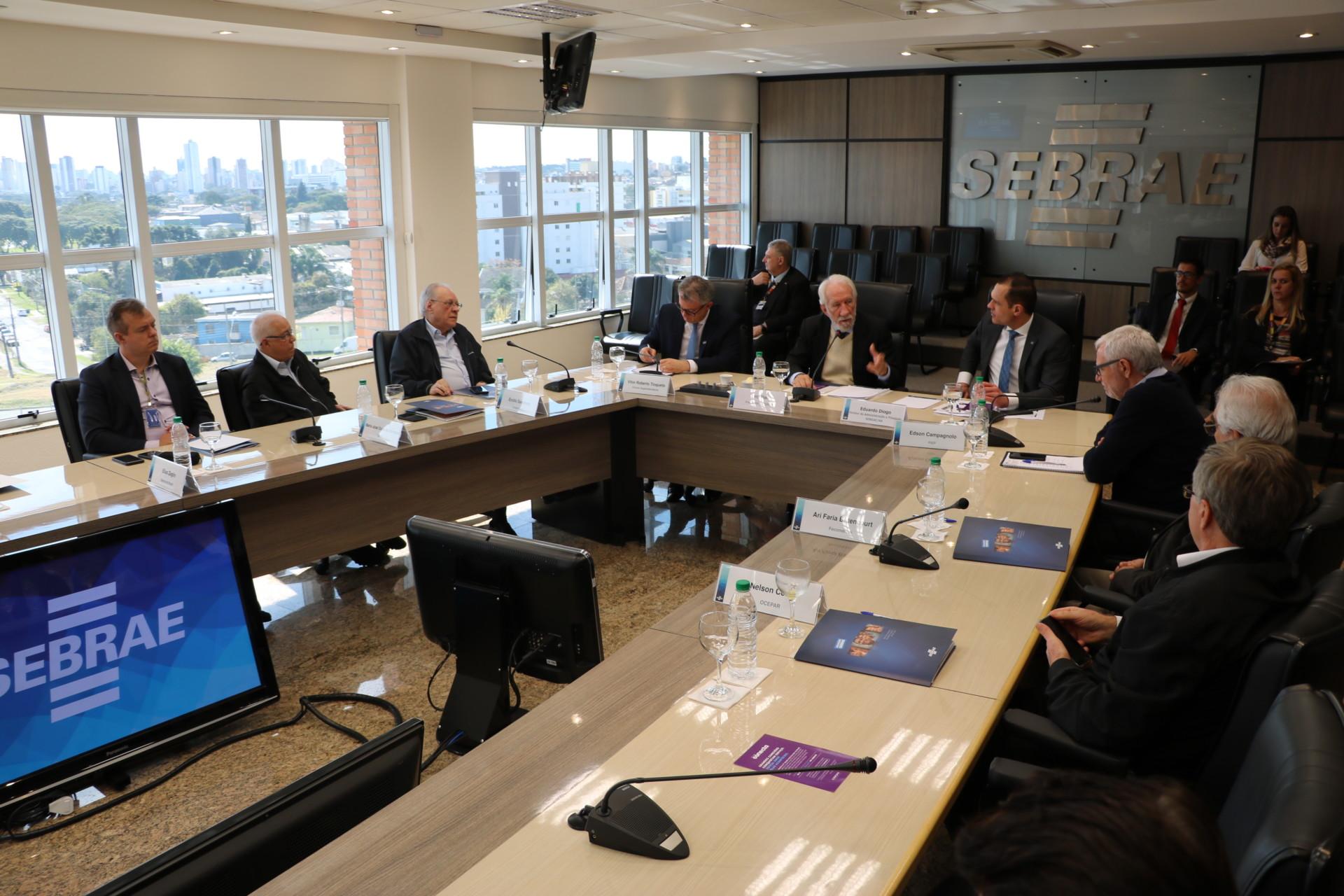 Reunião do CDE – Sebrae/PR com o Diretor Eduardo Diogo
