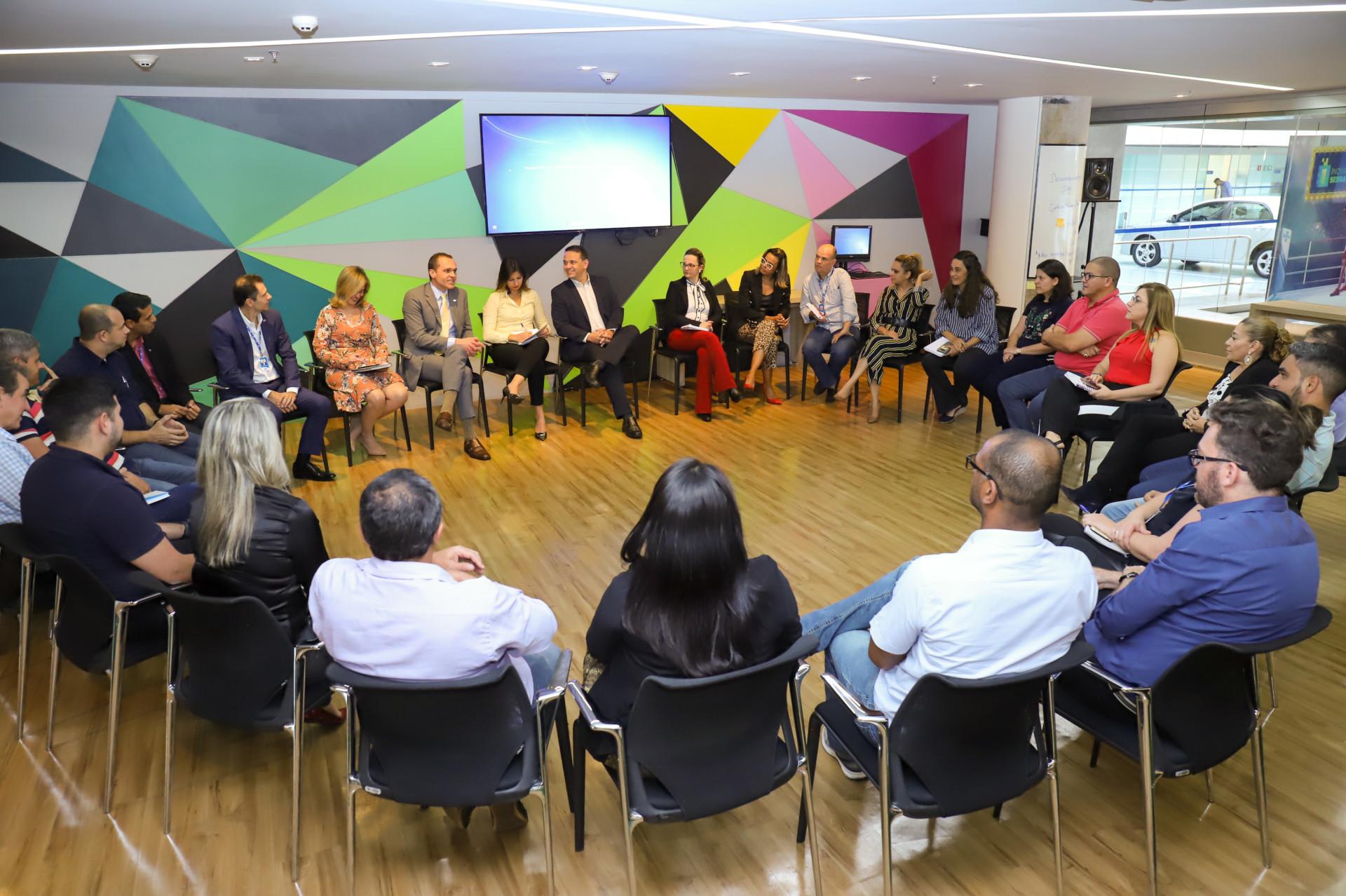 Reunião com a equipe do Financeiro (UGF)