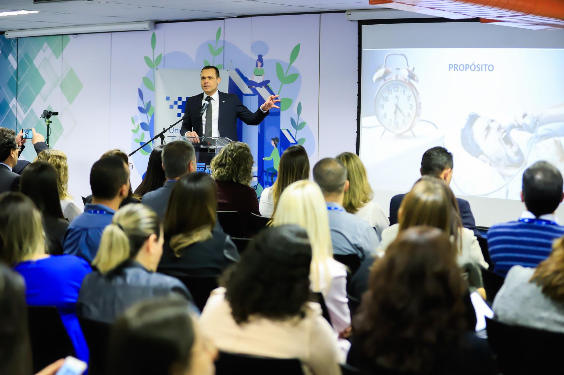 Palestra Sobre o Líder Regenerador na Universidade Corporativa Sebrae