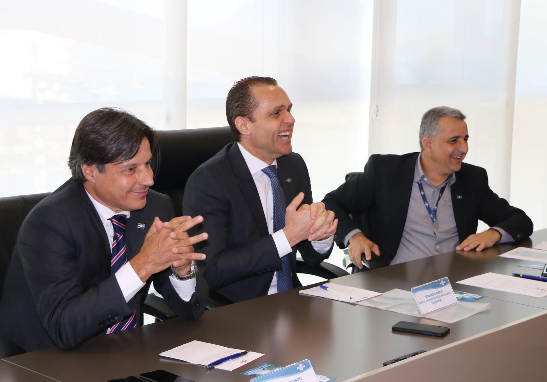 Reunião com a Diretoria Executiva do Sebrae/ES com apresentação dos projetos prioritários pelos Gerentes