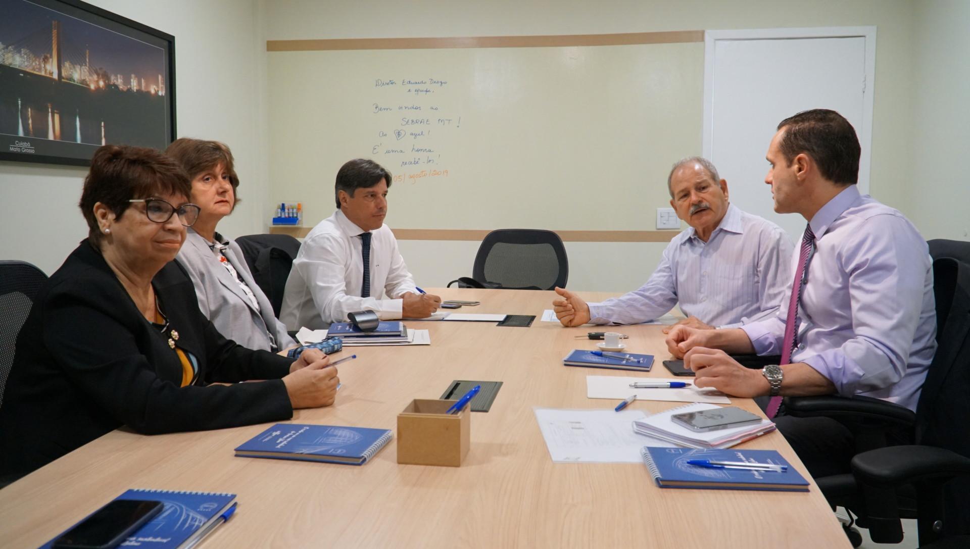 Reunião com a Diretoria do Sebrae/MT