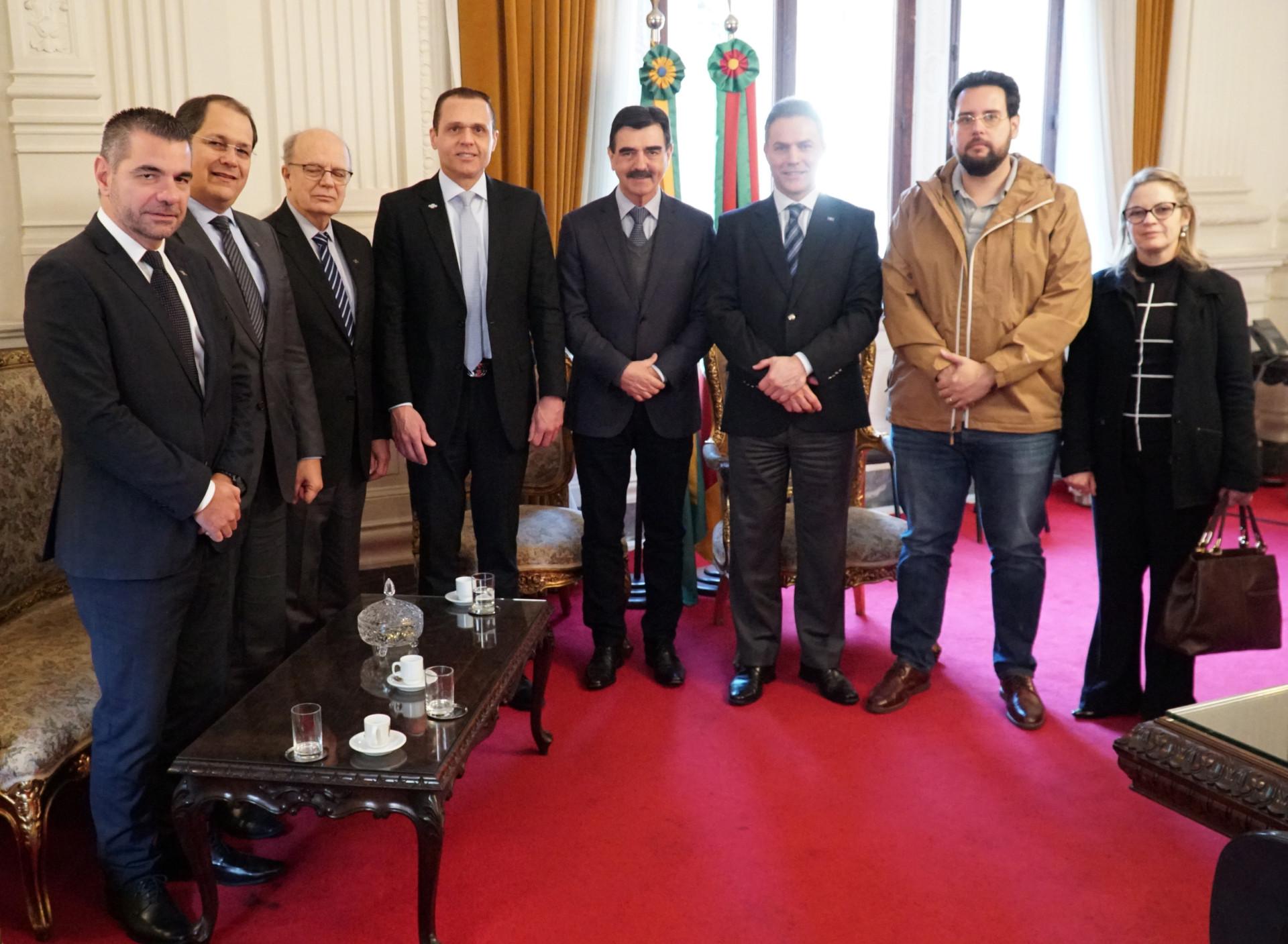 Reunião no Palácio Piratini – Porto Alegre/RS