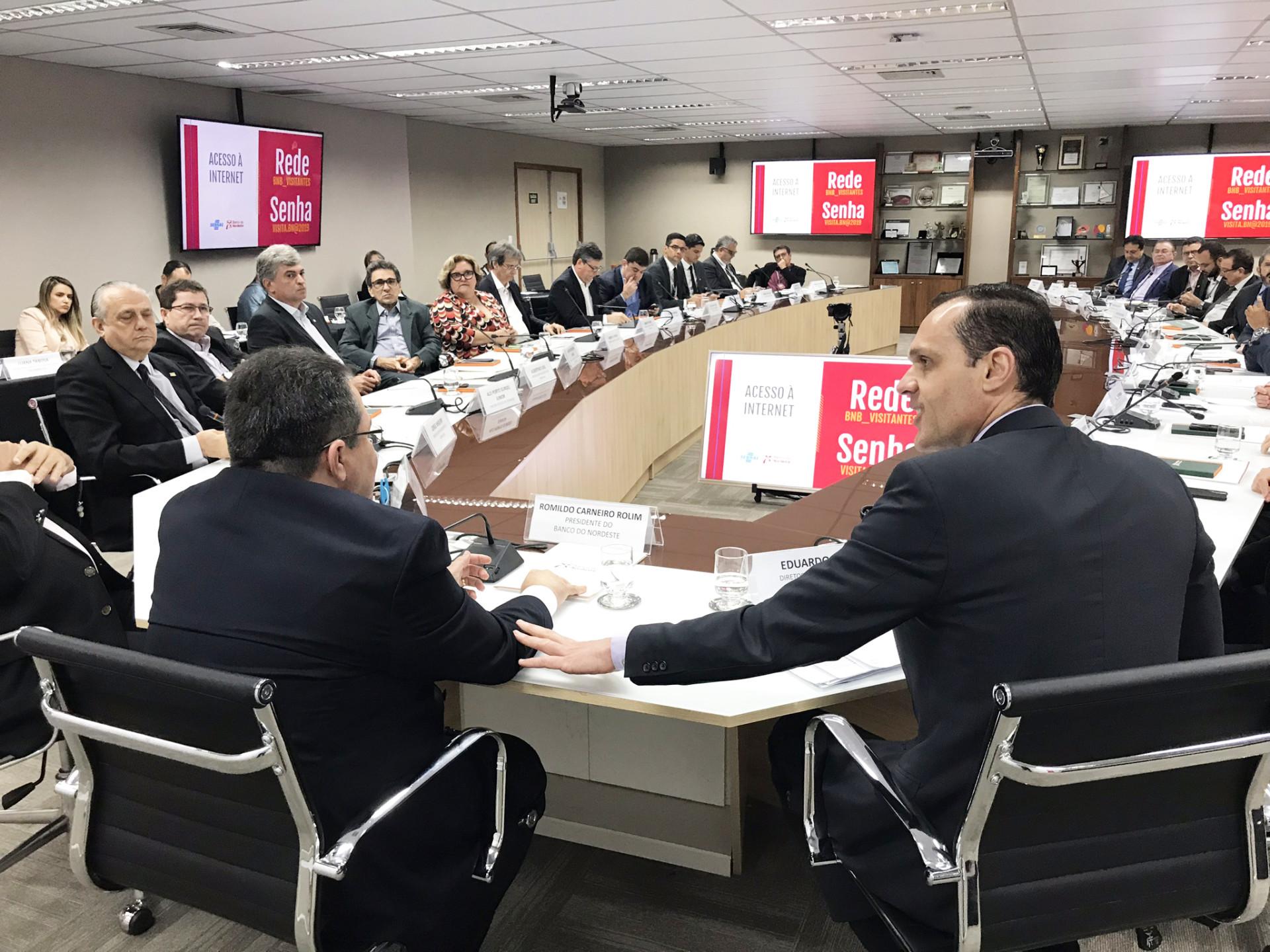 Banco do Nordeste e Sebrae articulam ação conjunta