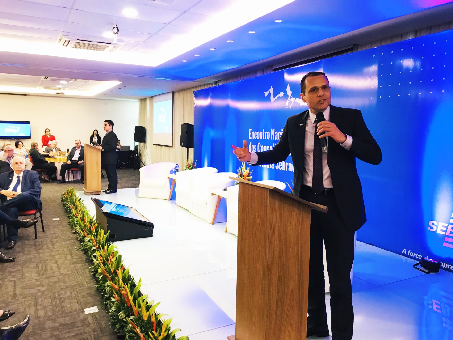 Lançamento do Programa de Integração de Conselheiros, durante o Encontro de Conselheiros Fiscais do Sistema Sebrae