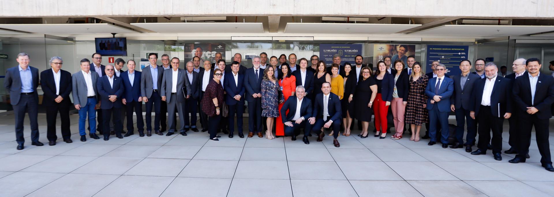 Reunião da ABASE no Sebrae Nacional