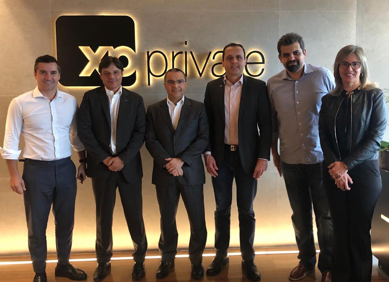 Reunião na XP Investimentos em São Paulo