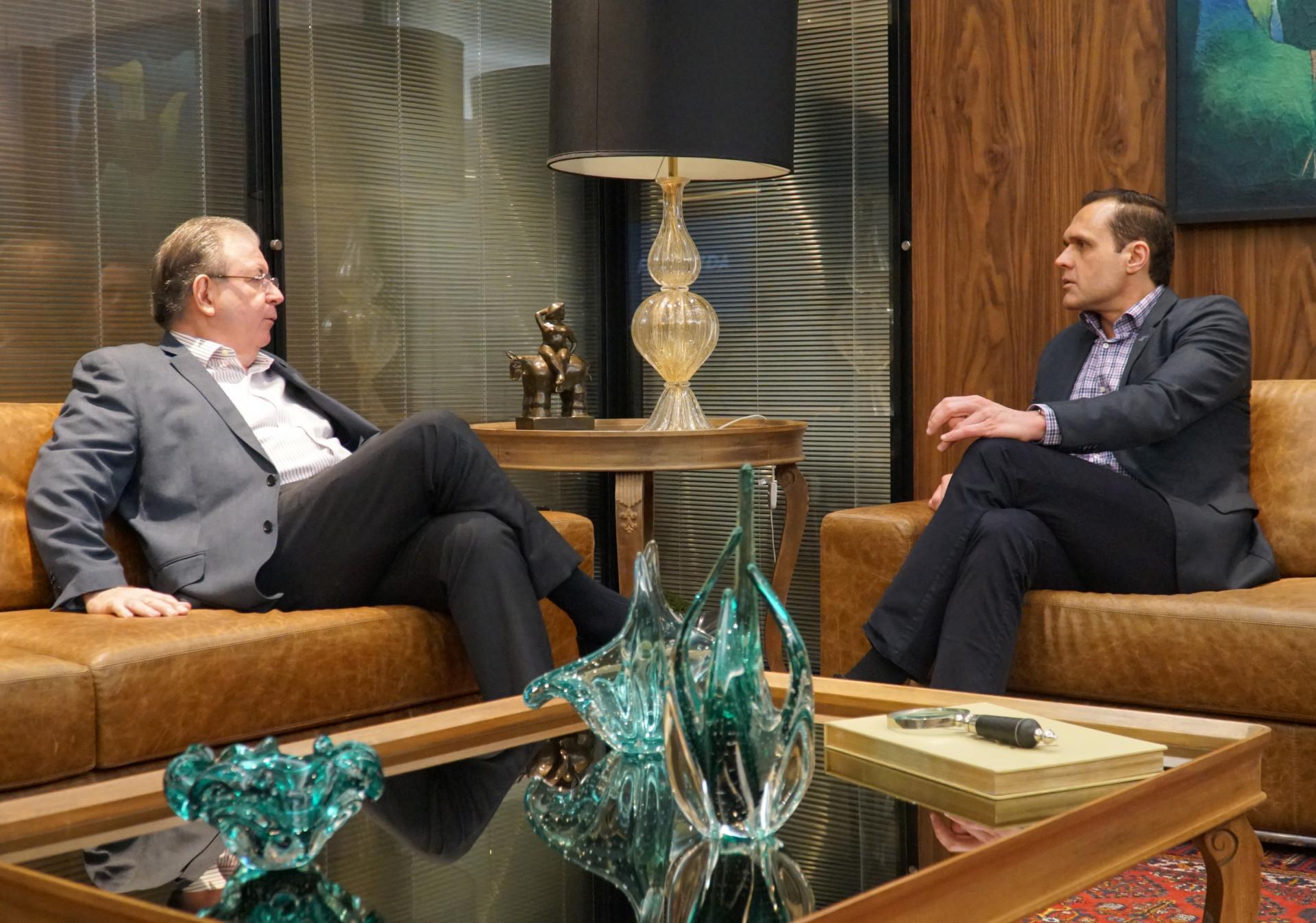 Reunião com Ricardo Cavalcante na FIEC