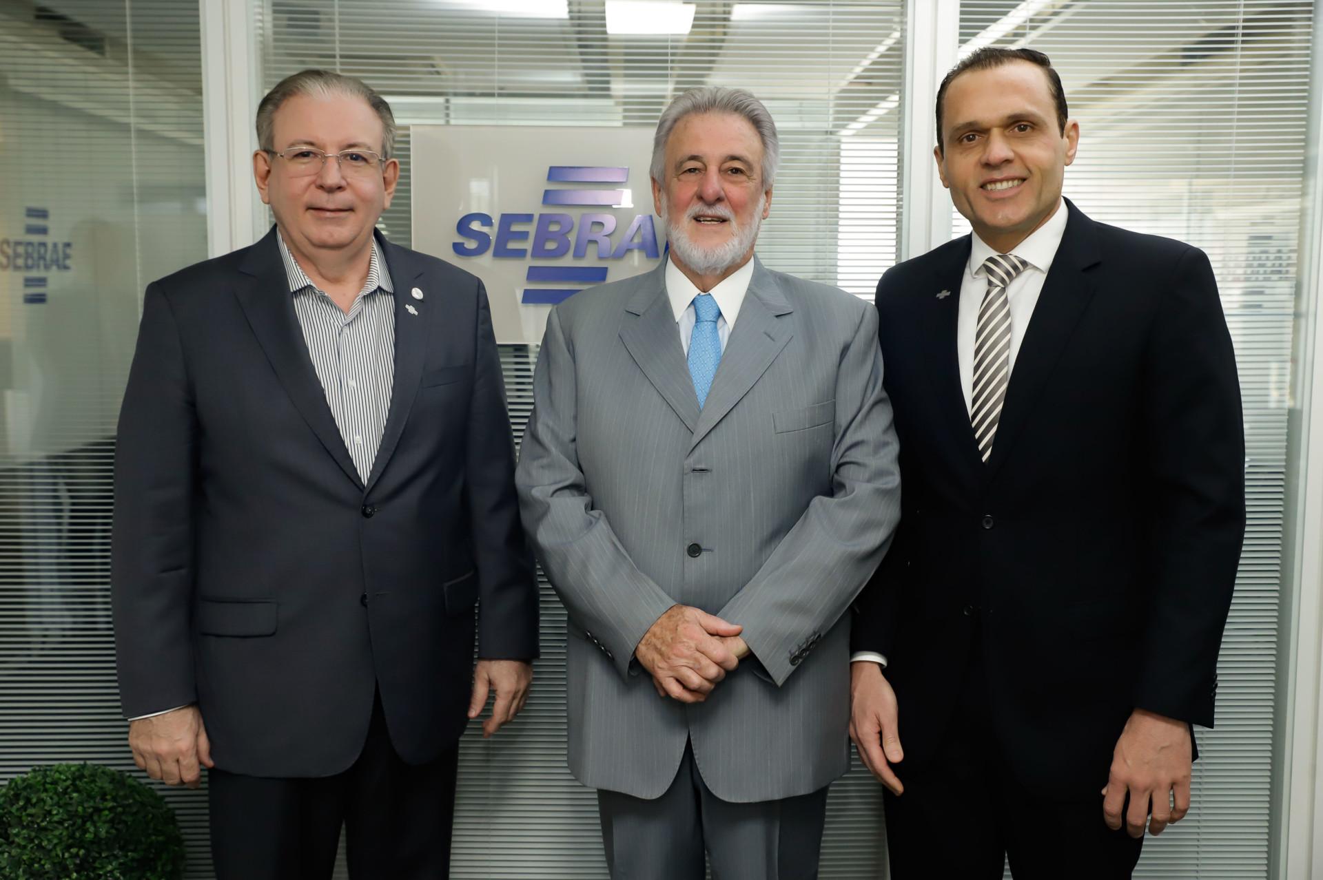 Reunião com Ricardo Cavalcante – Presidente FIEC no Sebrae Nacional
