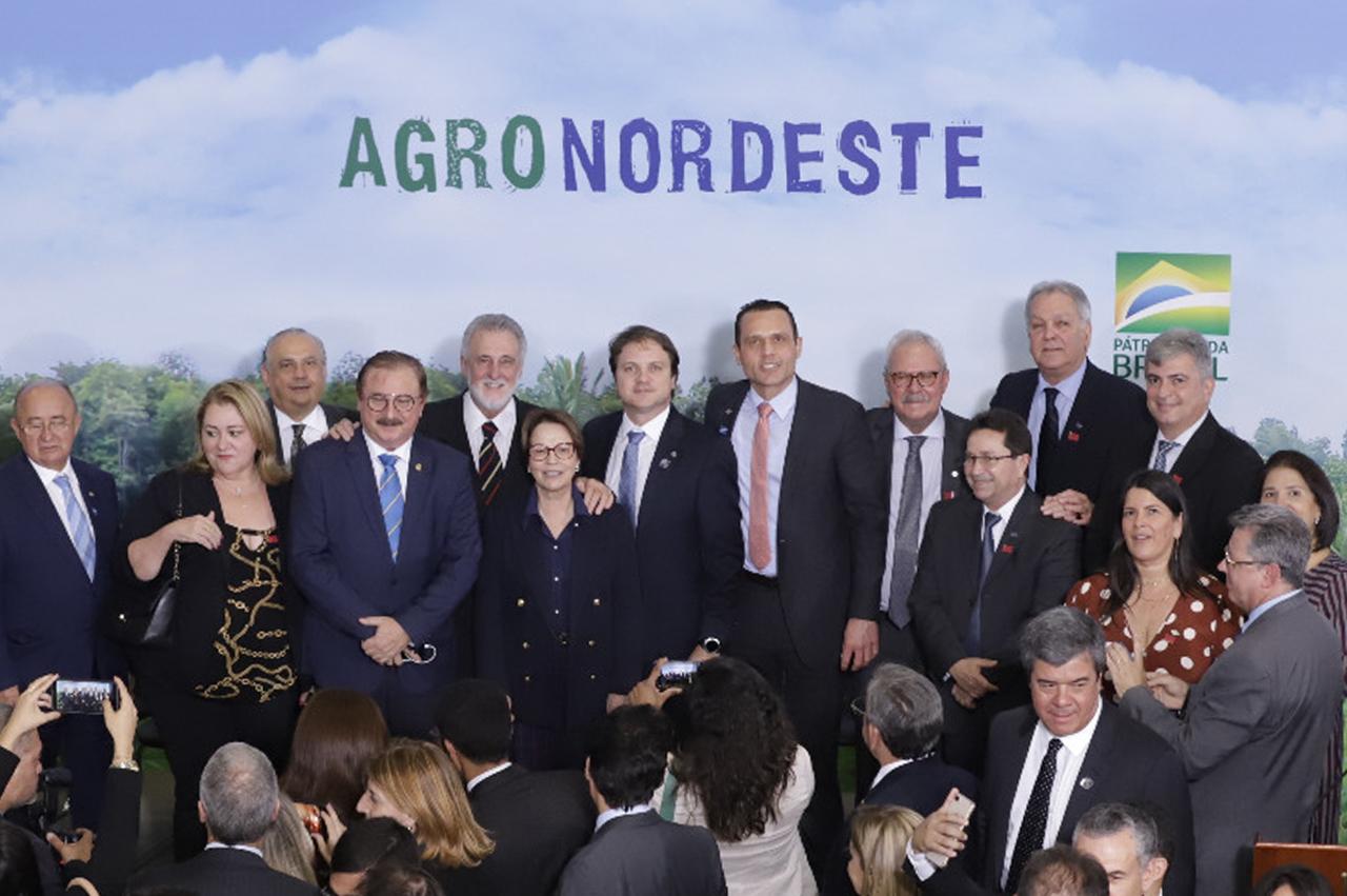 Lançamento do Plano AgroNordeste no Palácio do Planalto.