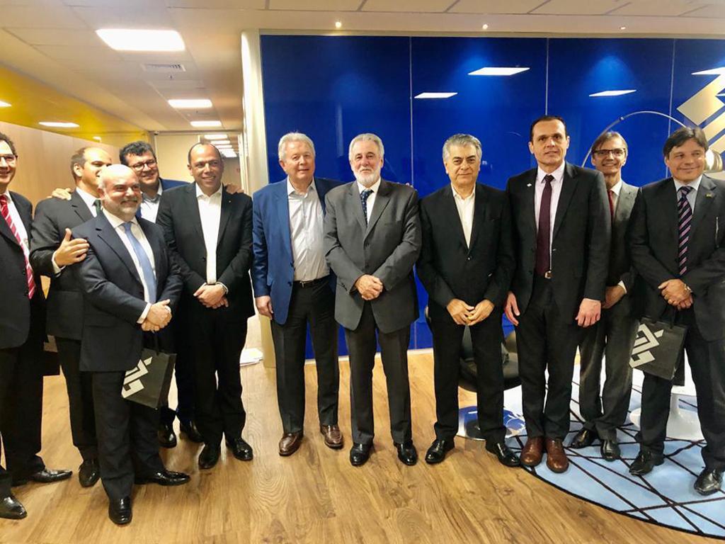 Reunião no Banco do Brasil