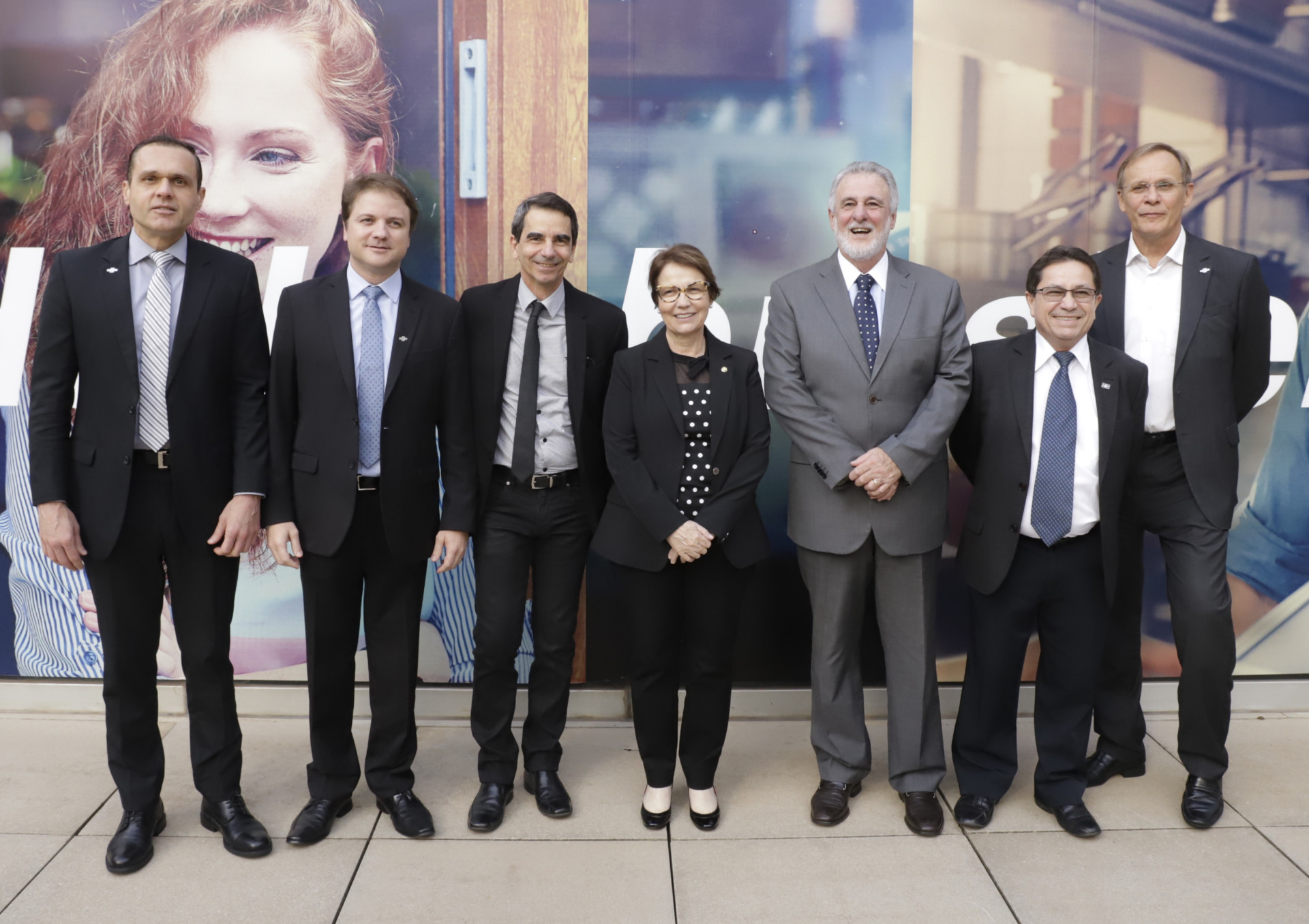 A ministra da Agricultura, Pecuária e Abastecimento (MAPA), Tereza Cristina, visitou o Sebrae Nacional