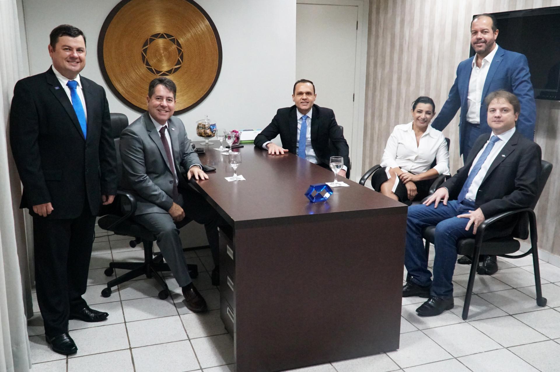 Reunião com a diretoria do Sebrae/TO