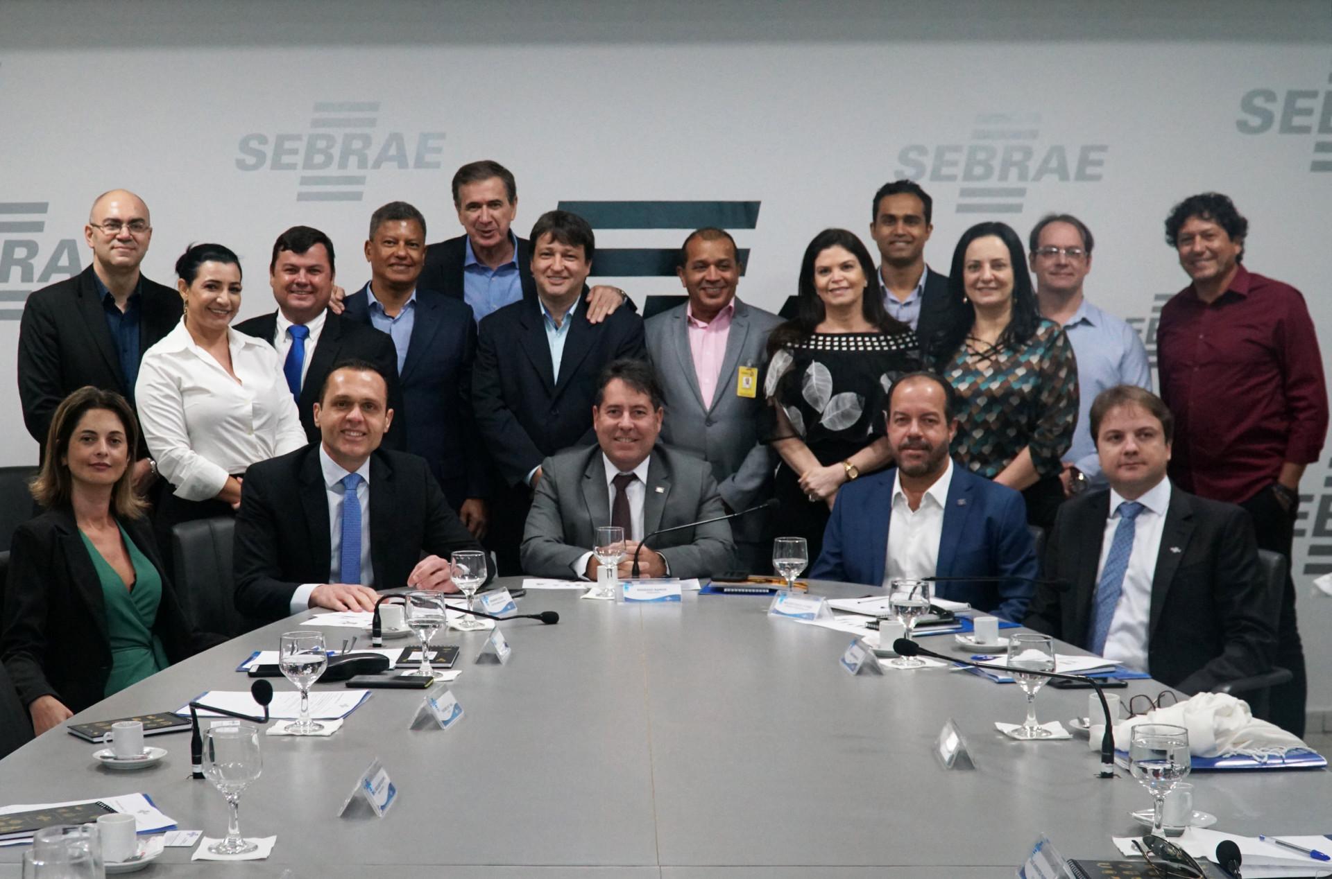 Reunião com o Conselho Deliberativo Estadual do Sebrae/TO