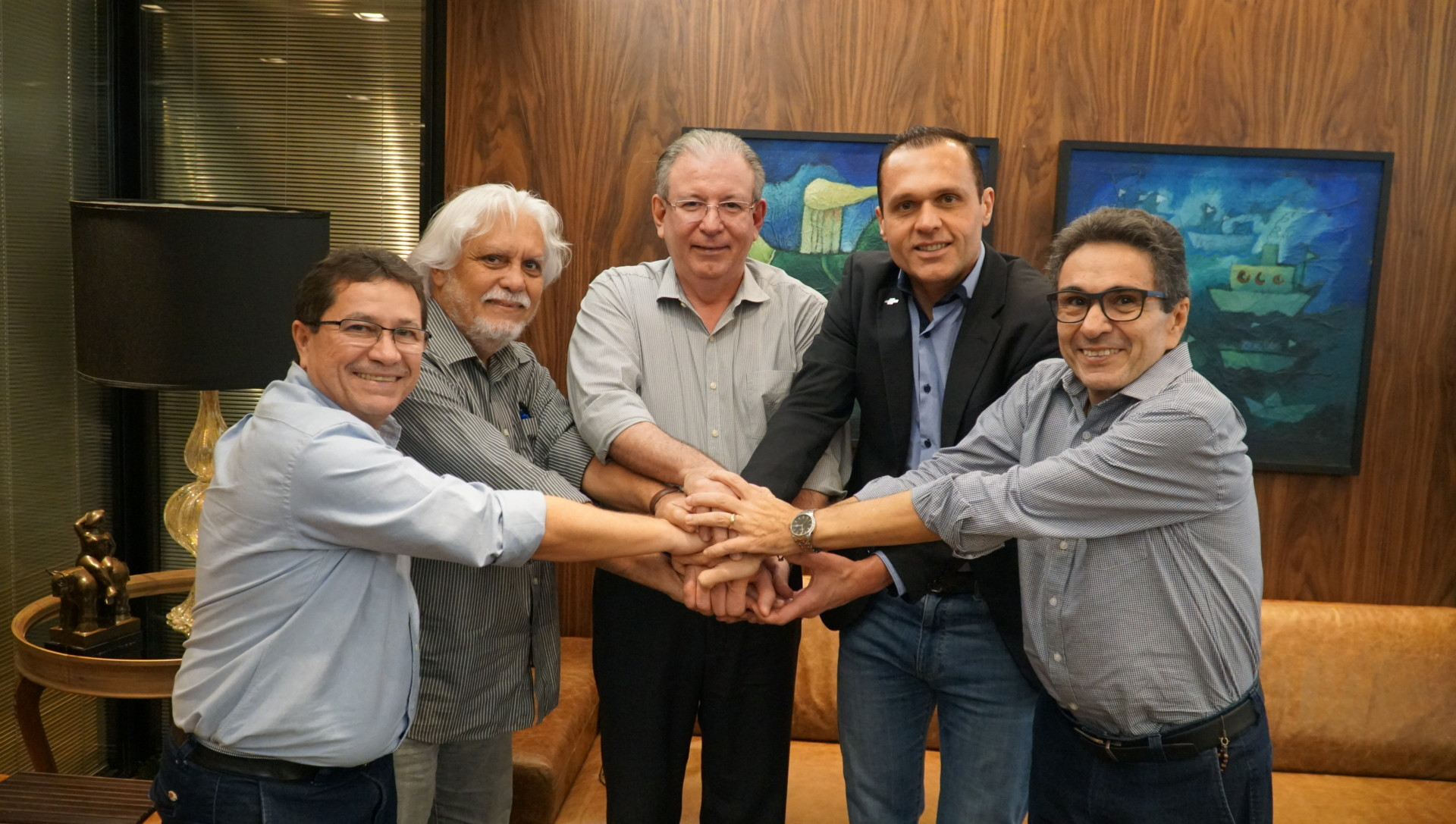 Reunião na FIEC com o Presidente Ricardo Cavalcante e a Diretoria do Sebrae-CE