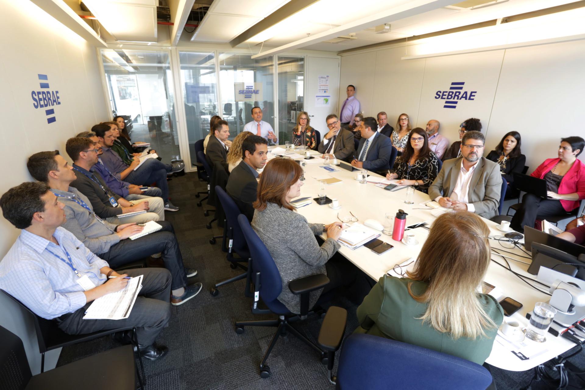 Reunião com gerentes e equipe DAF