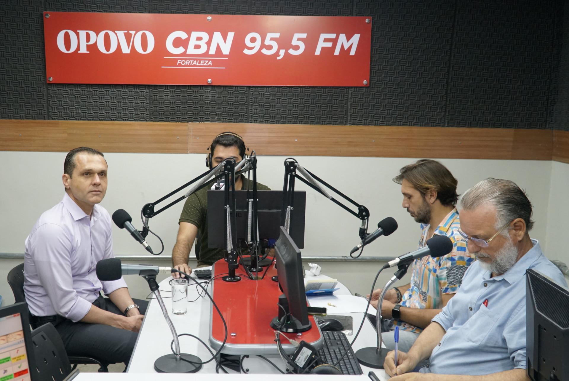 Debate na rede CBN Fortaleza