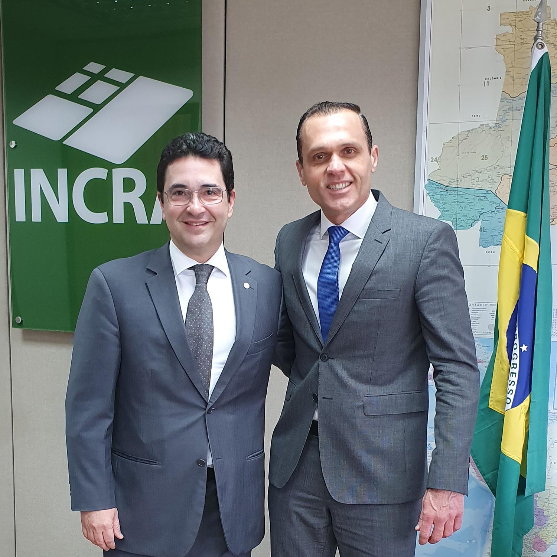Reunião com o Presidente do Incra, Geraldo Melo Filho