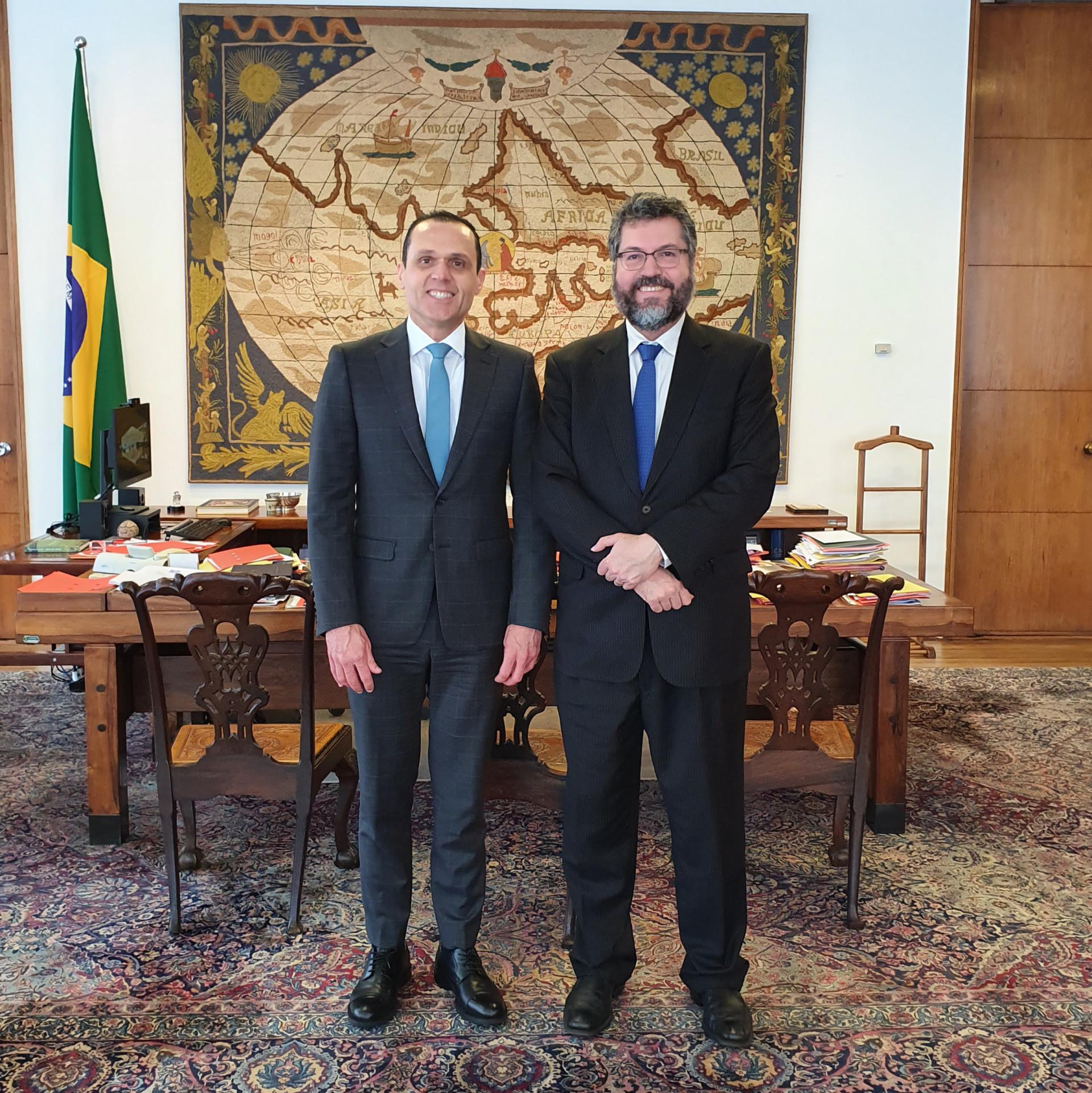 Reunião com o Ministro das Relações Exteriores, Ernesto Araújo
