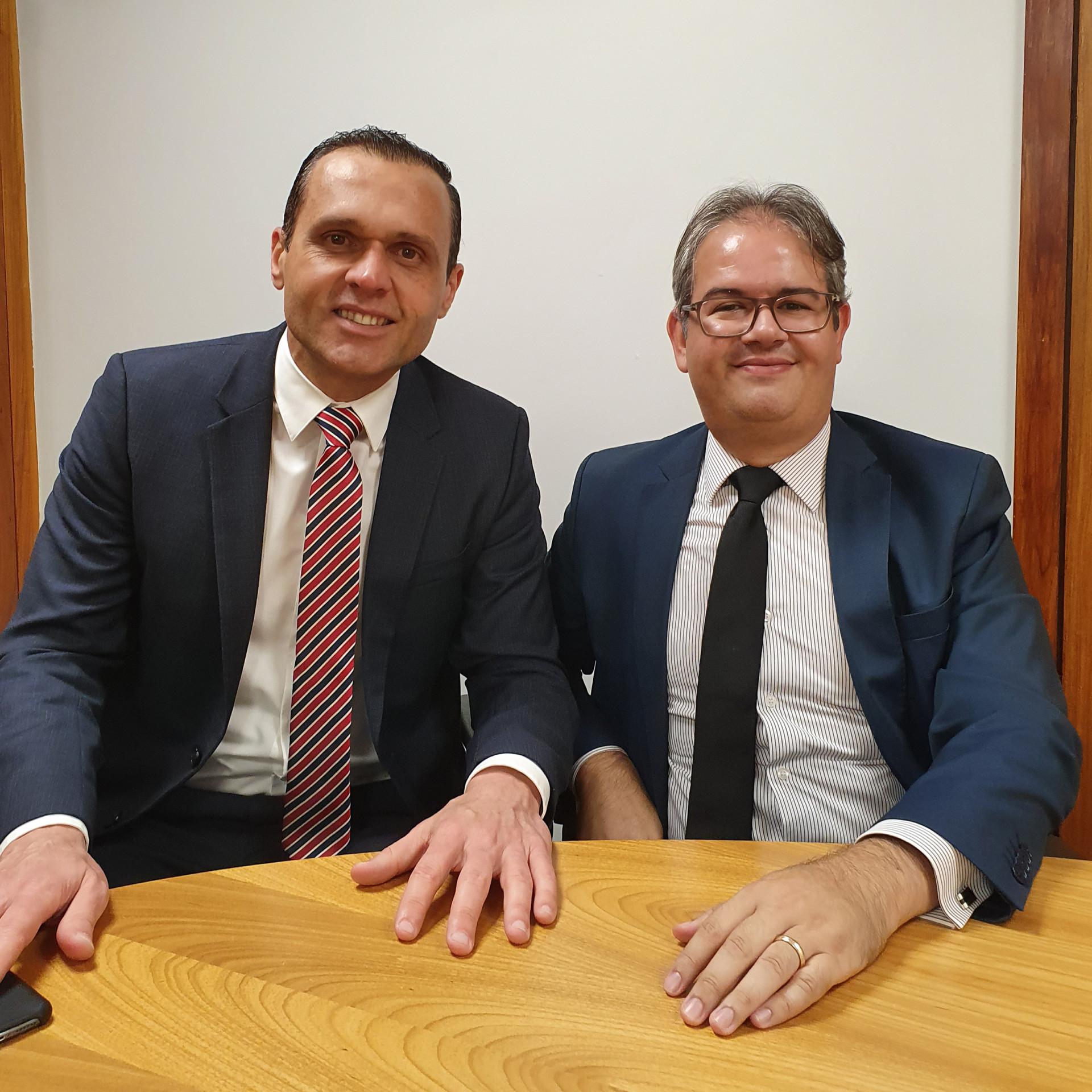 Diretor Eduardo Diogo Visita o Diretor-Geral do STF Eduardo Toledo
