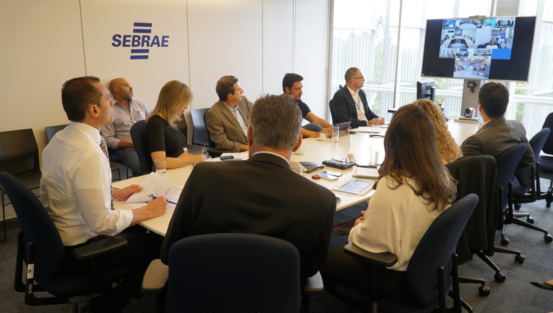 Reunião do comitê que trata da saúde do Sistema Sebrae