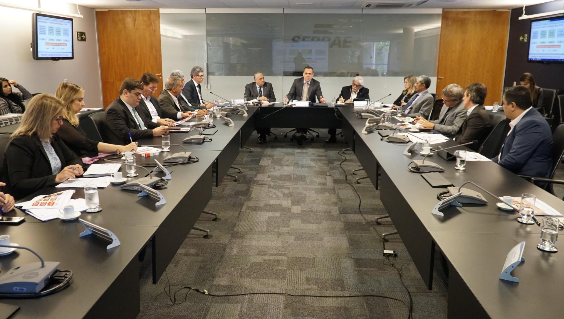 Reunião da ABASE Nordeste no Sebrae Nacional