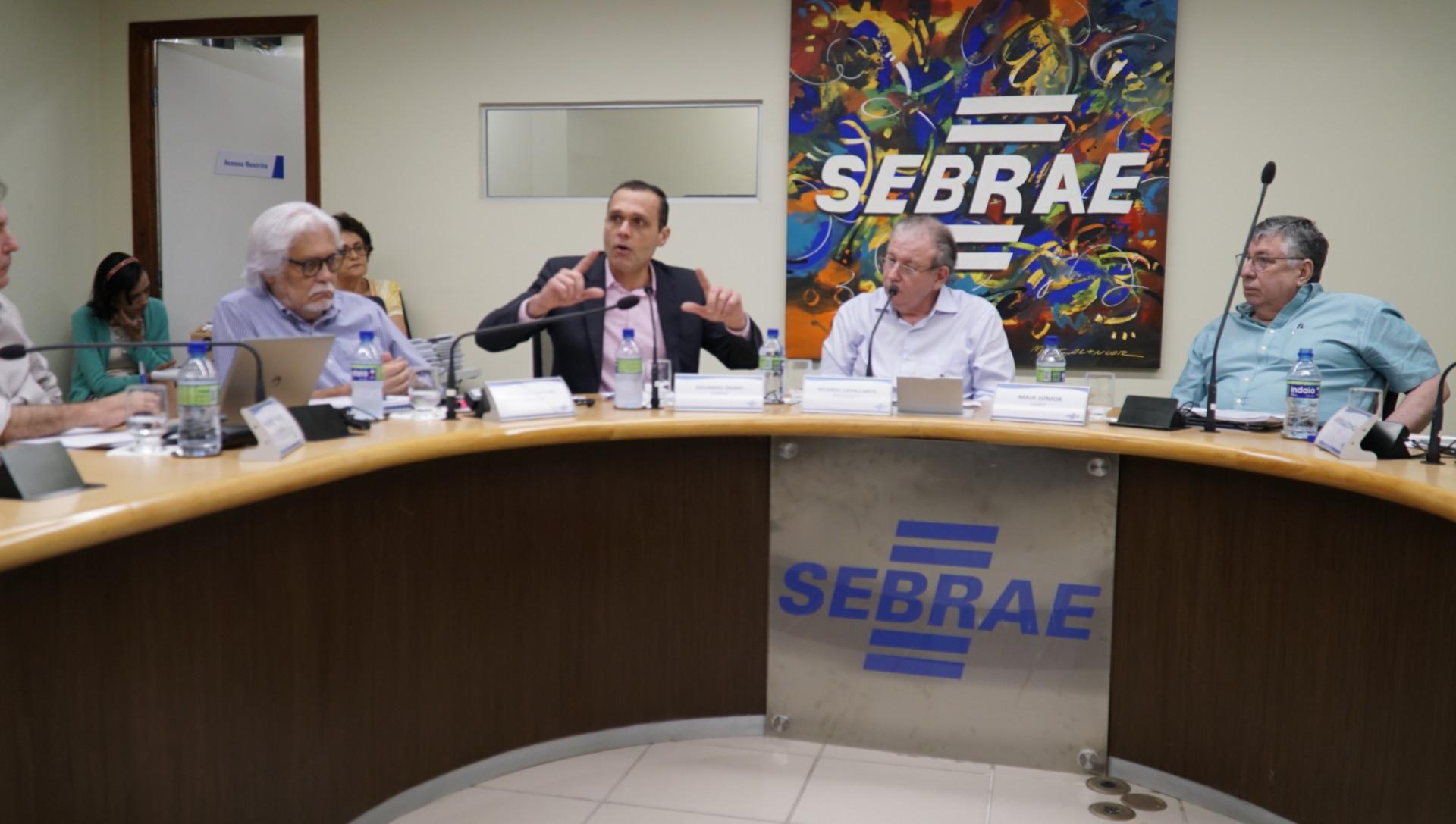 Reunião do Conselho Deliberativo do Sebrae/CE