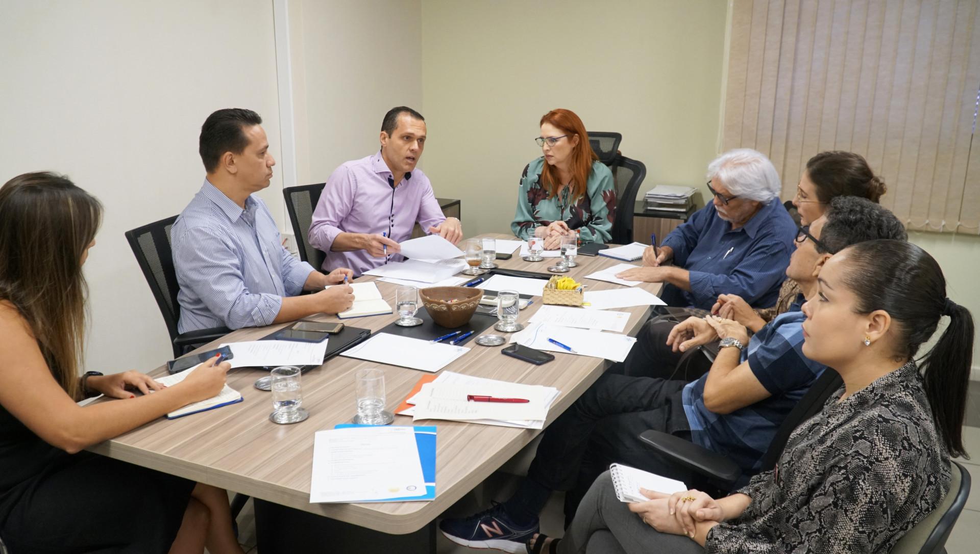 Reunião sobre o evento Mobilização pelo Emprego e Produtividade no Ceará