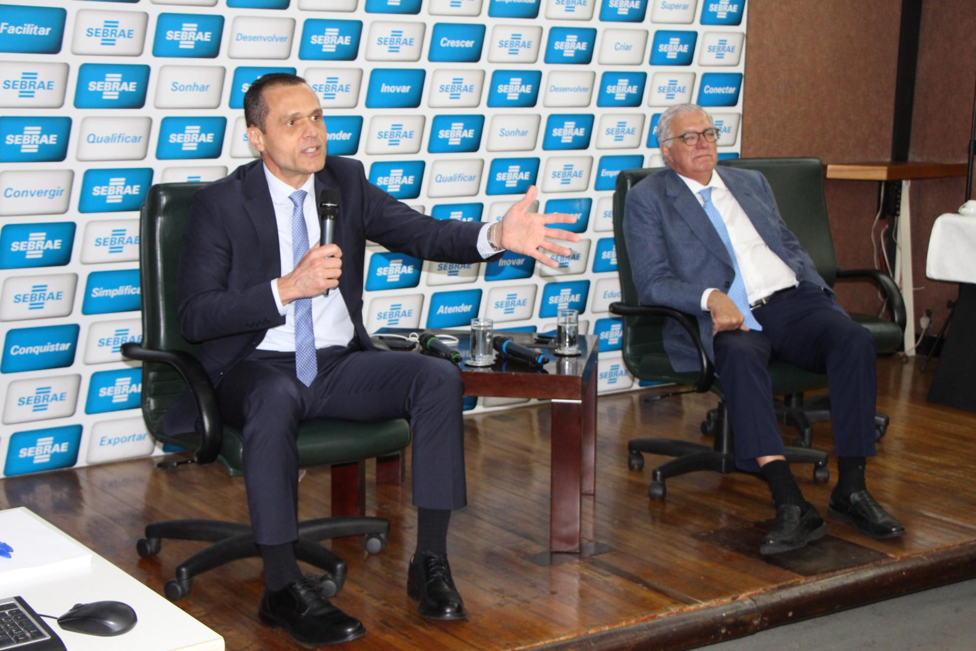 Eduardo Diogo se reúne com diretores e gerente do Sebrae/RJ