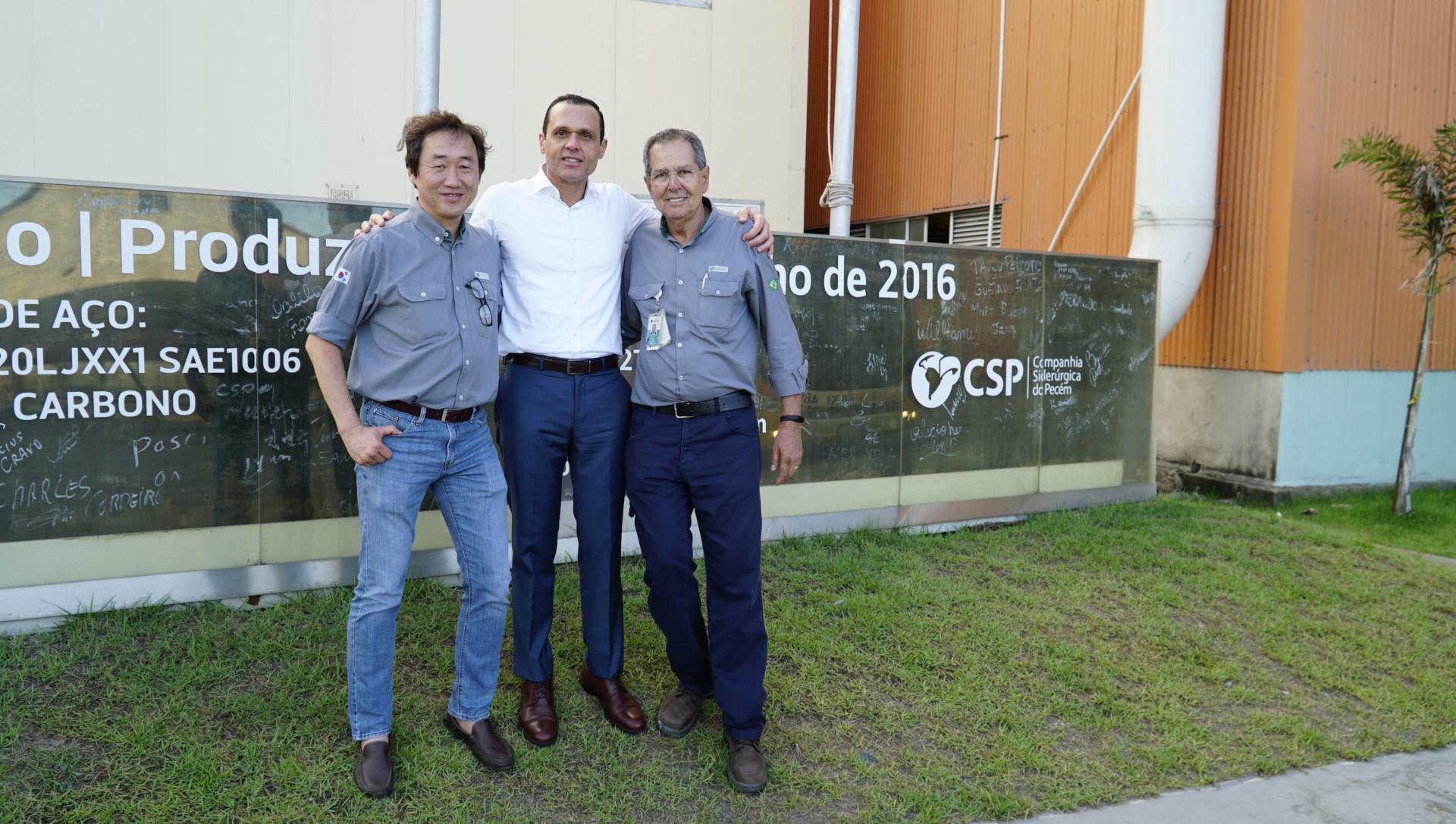 Visita a Companhia Siderúrgica do Pecém (CSP)