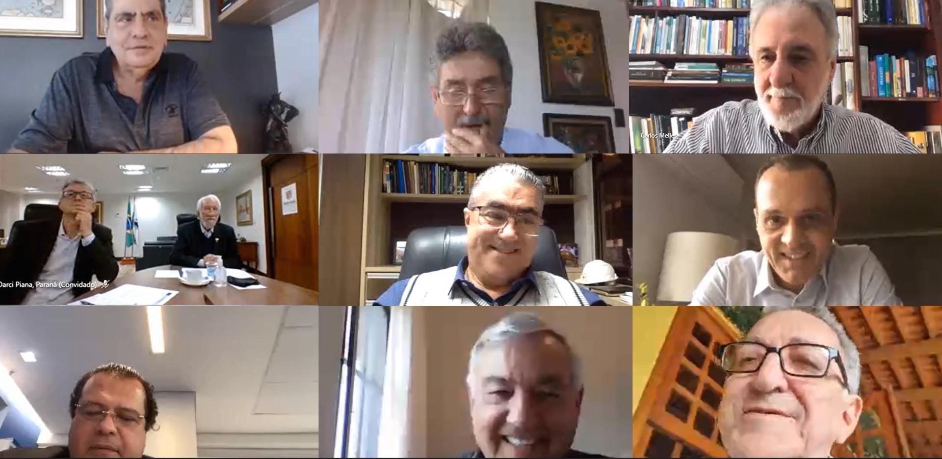 Reunião com os Presidentes dos CDEs