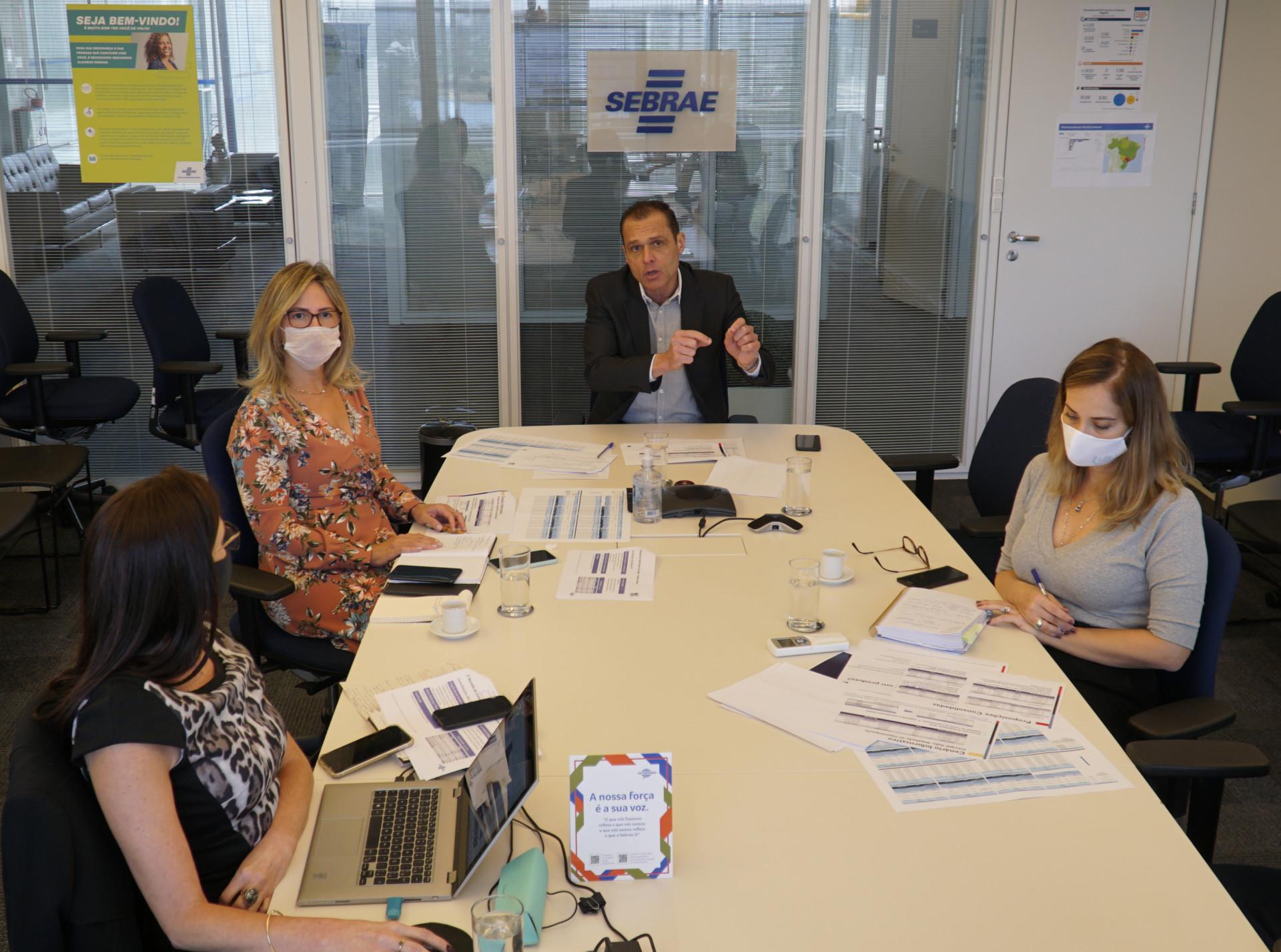 Reunião do Comitê Gestor da Saúde do Sebrae