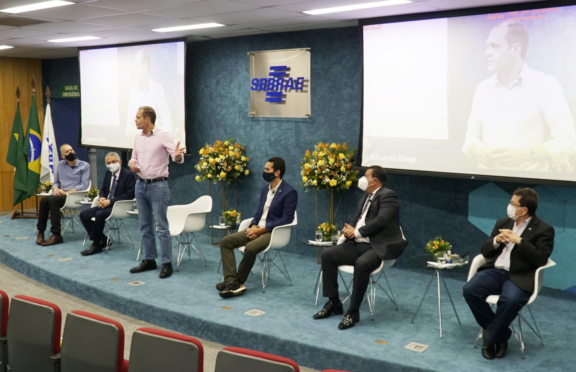 Lançamento do Guia do Candidato Empreendedor no Sebrae/CE